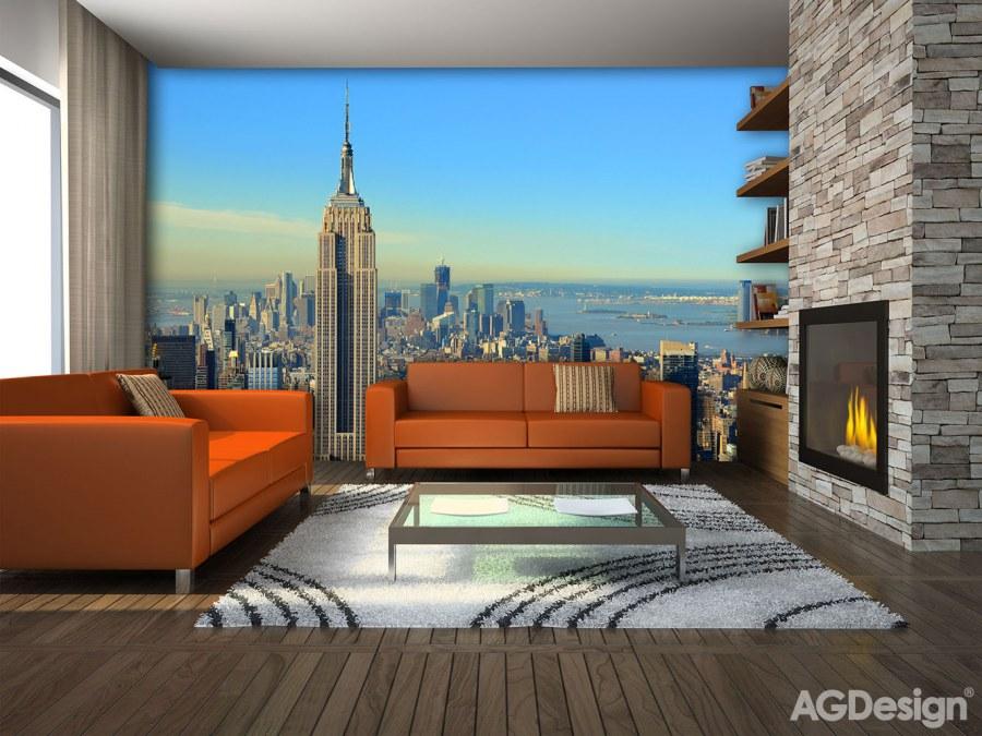 Fototapeta AG New York FTS-1309 | 360x254 cm - Fototapety na zeď