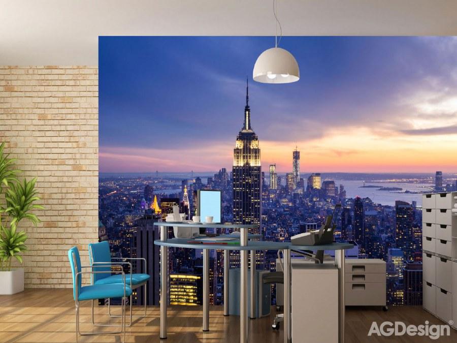 Fototapeta AG New York FTNXXL-2413 | 360x270 cm - Vliesové fototapety AG