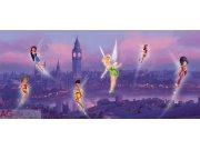 Vliesová fototapeta Fairies v londýně FTDNH-5306 | 202x90 cm Fototapety pro děti