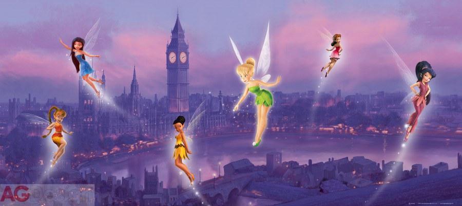 Vliesová fototapeta Fairies v londýně FTDNH-5306 | 202x90 cm - Fototapety pro děti