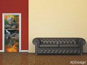 Vliesová fototapeta Autumn mill FTNV-2872 | 90x202 cm Fototapety vliesové - Vliesové fototapety AG