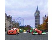 Fotozávěs Cars a závod FCSXL-4312, 180 x 160 cm Závěsy do dětského pokoje