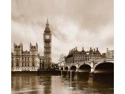 Foto závěs Londýn FCPXXL-6411, 280 x 245 cm Závěsy