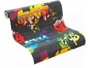 Papirnata tapeta za zid Kids & Teens graffiti 237801, Ljepilo besplatno Na skladištu