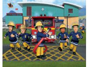 3D fototapeta Walltastic Požárník Sam 43770 | 305x244 cm Fototapety pro děti