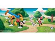 Vliesová fototapeta Mickey Mouse FTDNH-5323 | 202x90 cm Fototapety pro děti