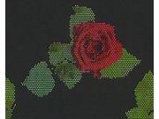 Vliesové tapety na zeď mozaika růže 94407-3, rozměry 0,53 x 10,05 m Tapety skladem - Tapety výprodej
