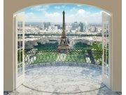 3D fototapeta Walltastic Paříž 43589 | 305x244 cm Fototapety pro děti