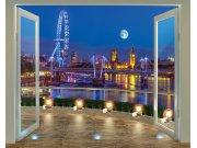 3D fototapeta Walltastic Londýn 43596 | 305x244 cm Fototapety pro děti