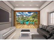 3D fototapeta Walltastic Alpy 43619 | 305x244 cm Fototapety pro děti