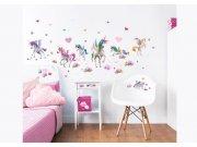 Samolepicí dekorace Walltastic Jednorožci 45989 Dětské samolepky na zeď