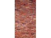 Foto závěs Red bricks FCSL-7501, 140 x 245 cm Závěsy