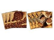 Samolepicí dekorace na kachličky Coffee TI-007, 15x15 cm Samolepky na kachličky