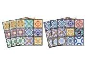 Samolepicí dekorace na kachličky Vintage TI-018, 15x15 cm Samolepky na kachličky