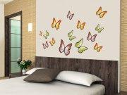 Samolepící dekorace na zeď Butterflies ST1-015, rozměry 50 x 70 cm Samolepící dekorace na zeď