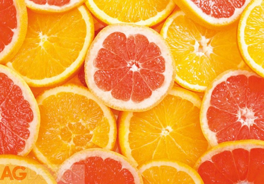 Vliesová fototapeta AG Design Pomeranč FTNXXL-0413, rozměry 330 x 255 cm