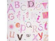 Duplex papírové dětské tapety na zeď 72810231, rozměry 0,53 x 10,05 m Dětské tapety - Tapety Camengo - Tapety Summer Camp