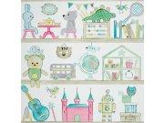 Duplex papírové dětské tapety na zeď 72820137, rozměry 0,53 x 10,05 m Dětské tapety - Tapety Camengo - Tapety Summer Camp