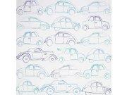 Duplex papírové dětské tapety na zeď 72830141, rozměry 0,53 x 10,05 m Dětské tapety - Tapety Camengo - Tapety Summer Camp