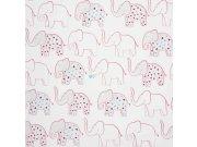 Duplex papírové dětské tapety na zeď 72870161, rozměry 0,53 x 10,05 m Výprodej