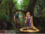 Fototapeta AG Rapunzel FTDXXL-0244 | 360x270 cm Fototapety pro děti