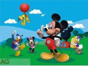 Fototapeta AG Mickey Mouse FTDNXXL-5002 | 360x270 cm Fototapety pro děti