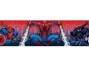 Samolepicí bordura Spiderman D42369, rozměry 15,9 x 500 cm Dětské samolepicí bordury